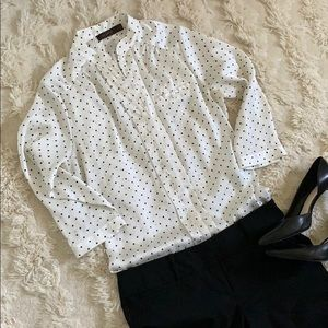 The Limited 3/4 Sleeve Blouse - size M